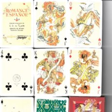 Barajas de cartas: BARAJA POKER ROMANCE ESPAÑOL. Lote 172416279