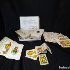 Barajas de cartas: CINCO BARAJAS ANTIGUAS.COMAS , MINIATURA Y AUSTRIA DOBLE DUROPLAST.NAIPES.CARTAS. Lote 172423897