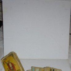 Barajas de cartas: BARAJA TAROT RIDER TAROT DER MAGIER 22 GROSSE ARKANEN 56 KLEINE ARKANEN . Lote 172565798