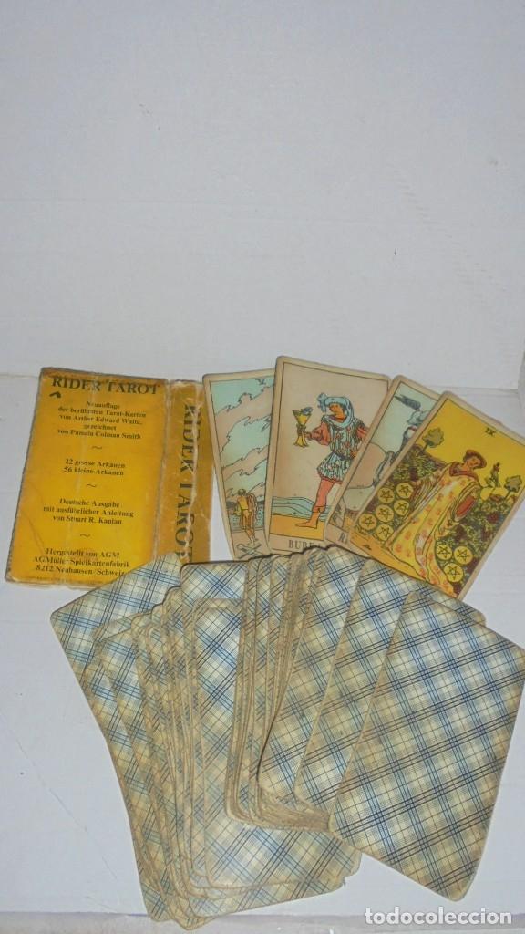 Barajas de cartas: BARAJA TAROT RIDER TAROT Der MAGIER 22 GROSSE ARKANEN 56 KLEINE ARKANEN - Foto 2 - 172565798