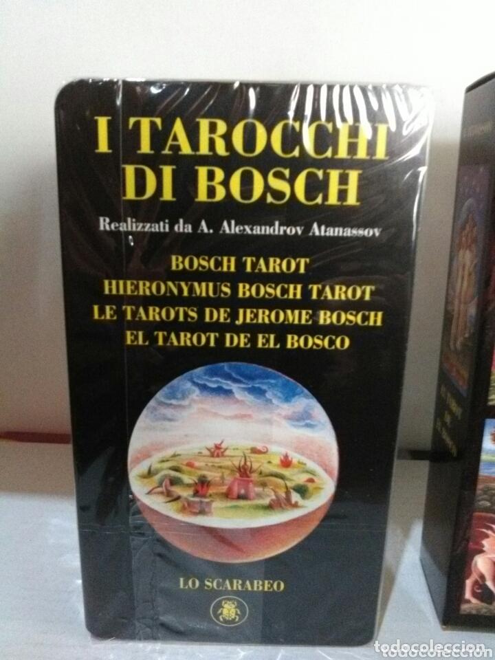 Barajas de cartas: HIERONYMUS BOSCH TAROT DE EL BOSCO. A. ANNASSOV. - Foto 2 - 172611449