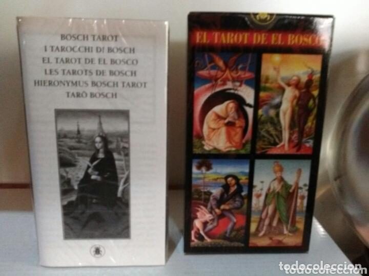Barajas de cartas: HIERONYMUS BOSCH TAROT DE EL BOSCO. A. ANNASSOV. - Foto 3 - 172611449