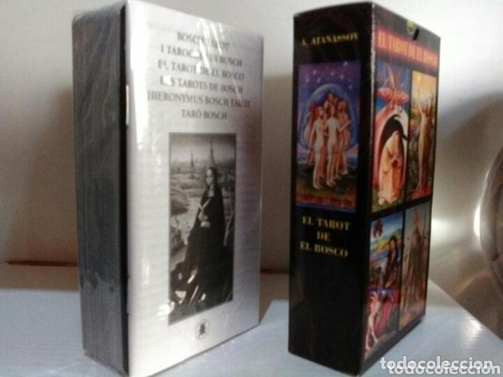 Barajas de cartas: HIERONYMUS BOSCH TAROT DE EL BOSCO. A. ANNASSOV. - Foto 4 - 172611449