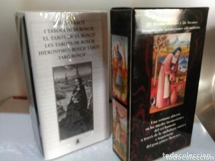 Barajas de cartas: HIERONYMUS BOSCH TAROT DE EL BOSCO. A. ANNASSOV. - Foto 5 - 172611449
