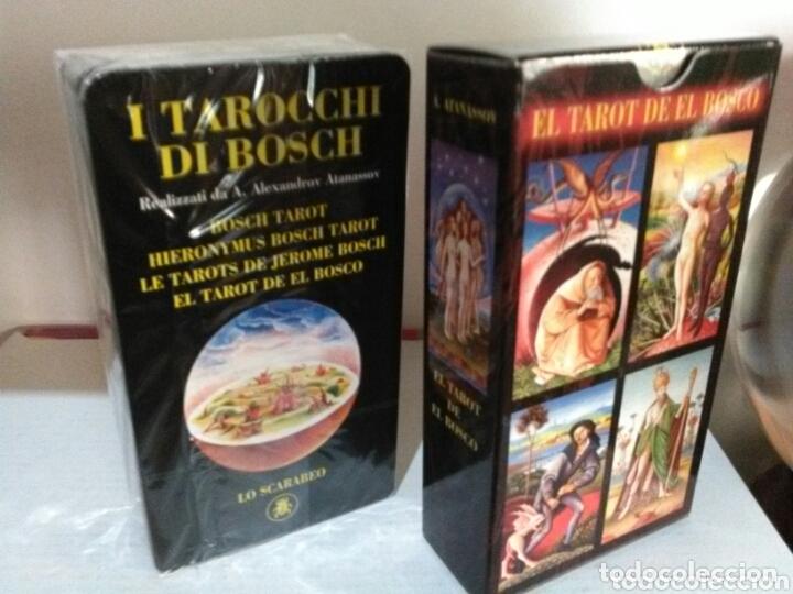Barajas de cartas: HIERONYMUS BOSCH TAROT DE EL BOSCO. A. ANNASSOV. - Foto 6 - 172611449