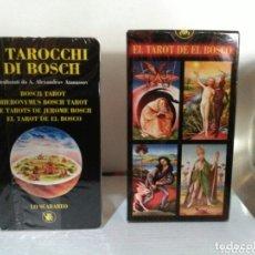 Barajas de cartas: HIERONYMUS BOSCH TAROT DE EL BOSCO. A. ANNASSOV.. Lote 172611449
