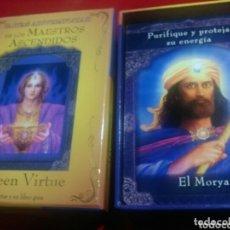 Barajas de cartas: CARTAS DE LOS MAESTROS ASCENDIDOS.DOREEN VIRTUE.. Lote 172669454