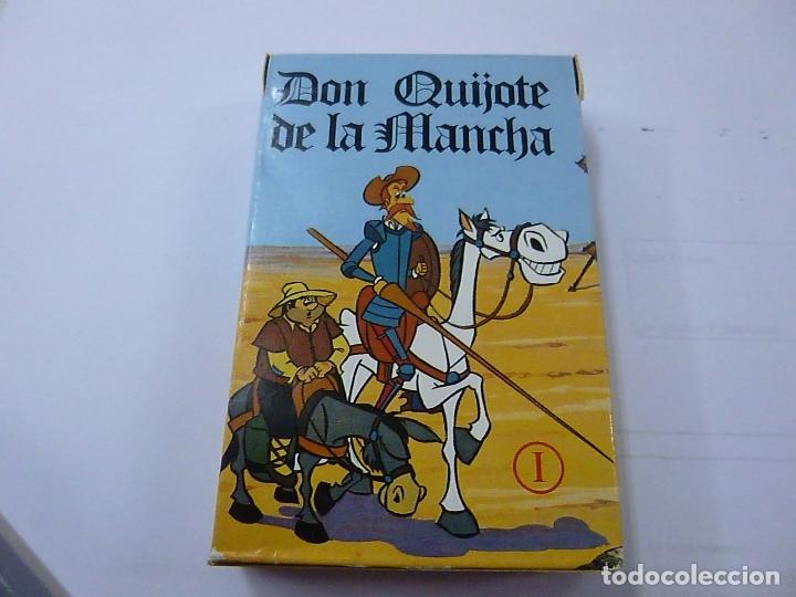 DON QUIJOTE DE LA MANCHA - BARAJA DE CARTAS -FOURNIER -COMO NUEVA -1616. (Juguetes y Juegos - Cartas y Naipes - Barajas Infantiles)