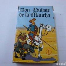 Jeux de cartes: DON QUIJOTE DE LA MANCHA - BARAJA DE CARTAS -FOURNIER -COMO NUEVA -1616.. Lote 244774395