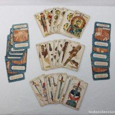 Barajas de cartas: BARAJA CINEMATOGRÁFICA COMPLETA DE 48 CARTAS ESPAÑOLAS CROMOS DE CHOCOLATES JAIME BOIX AÑOS 20. Lote 172711588