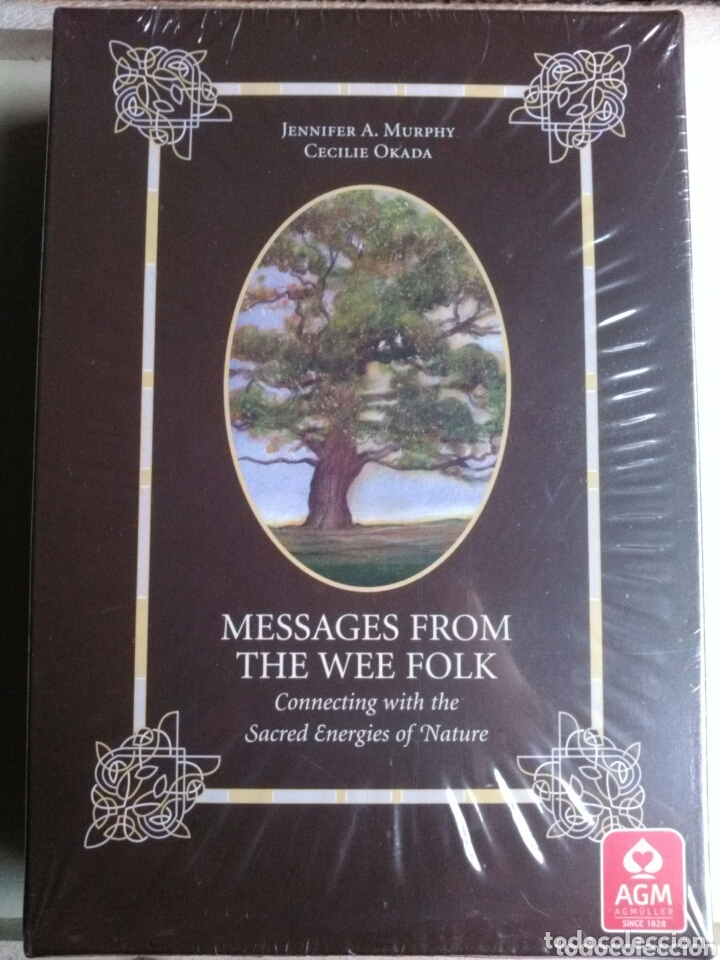 MESSAGES FROM THE WEE FOLK. (Juguetes y Juegos - Cartas y Naipes - Barajas Tarot)