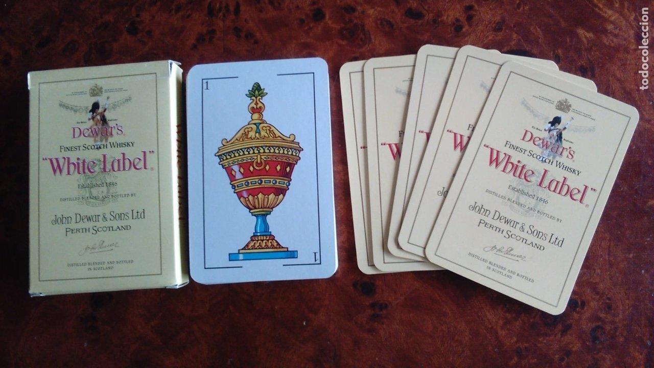 Barajas de cartas: BARAJA DE CARTAS. PUBLICIDAD DE WHITE LABEL. 40 CARTAS. NAIPES COMAS - Foto 2 - 172755755