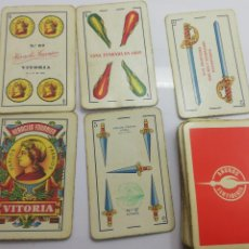 Barajas de cartas: BARAJA ABONOS FERTIBERIA INCOMPLETA HERACLIO FOURNIER NÚMERO 27. Lote 172813087