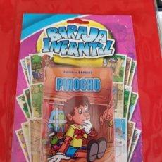 Barajas de cartas: BARAJA INFANTIL *PINOCHIO*-NAIPES COLECCION CUENTOS CLASICOS. Lote 273488988