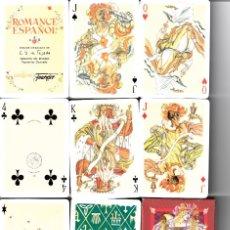 Barajas de cartas: BARAJA POKER ROMANCE ESPAÑOL. Lote 172925568