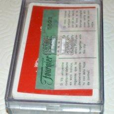 Barajas de cartas: HERACLIO FOURNIER - WORLD BRIDGE OLYMPIAD - LAS PALMAS 1974 - EN CAJA 5593. Lote 173013117