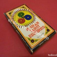 Barajas de cartas: EL GRAN TAROT ESOTÉRICO. TAROT COMPLETO. FOURNIER. MUY BUEN ESTADO. Lote 173045342