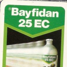 Barajas de cartas: BARAJA ESPAÑOLA DE 50 CARTAS. PUBLICIDAD DE BAYFIDAN 25 EC DE BAYER. NAIPES DE HERACLIO FOURNIER. Lote 173091234