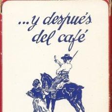 Barajas de cartas: BARAJA ESPAÑOLA DE 40 CARTAS. PUBLICIDAD DE PONCHE SOTO. NAIPES FOURNIER. Lote 173096473