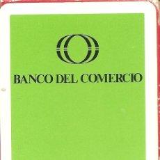 Barajas de cartas: BARAJA ESPAÑOLA DE 50 CARTAS. PUBLICIDAD DE BANCO DEL COMERCIO. NAIPES DE HERACLIO FOURNIER. Lote 173097034