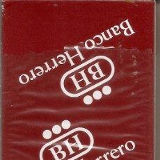 Barajas de cartas: BARAJA ESPAÑOLA DE 40 CARTAS. PUBLICIDAD DE CAJA DE BANCO HERRERO. NAIPES DE ROYAL. Lote 173157998