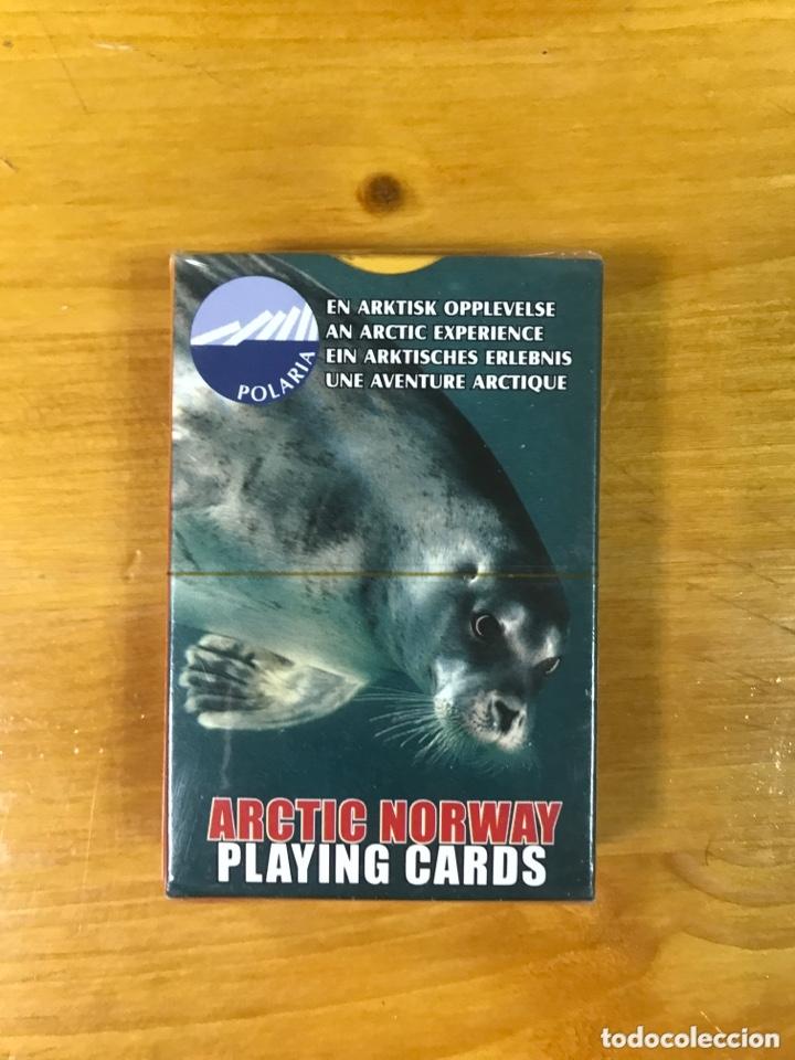 BARAJA DE CARTAS DE POKER DE ARTIC NORWAY. (Juguetes y Juegos - Cartas y Naipes - Barajas de Póker)