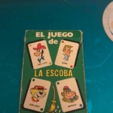 Barajas de cartas: ANTIGUA BARAJA CARTAS INFANTIL COMPLETA EL JUEGO DE LA ESCOBA HANNA BARBERA EDICIONES RECREATIVAS. Lote 173475439