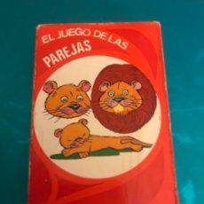 Barajas de cartas: ANTIGUA BARAJA EL JUEGO DE LAS PAREJAS DE EDICIONES RECREATIVAS AÑOS 60 COMPLETA CON INSTRUCCIONES. Lote 173475860