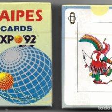 Jeux de cartes: RESERVADA G....O, BARAJA NAIPES CARDS EXPO 92 SEVILLA, 55 CARTAS SIN ESTRENAR... Lote 224582912