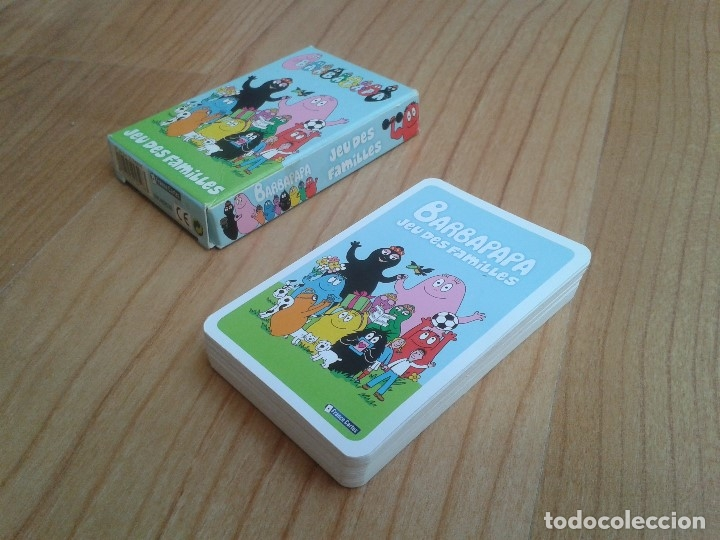 Barajas de cartas: Barbapapa -- Jeu des Familles -- France Cartes, 2010 -- Completo - Foto 8 - 173578669
