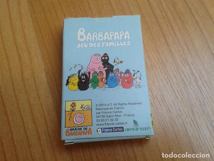 Barajas de cartas: Barbapapa -- Jeu des Familles -- France Cartes, 2010 -- Completo - Foto 5 - 173578669