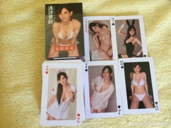 BARAJA NUEVA EROTICA SEXY CADA CARTA UNA FOTO DIFERENTE (Juguetes y Juegos - Cartas y Naipes - Barajas de Póker)