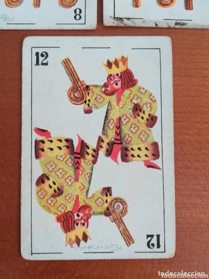 Barajas de cartas: Antigua Baraja cartas publicidad Chocolates San Fernando Ilustraciones Bofarull - 1932 - Incompleta - Foto 4 - 173866544
