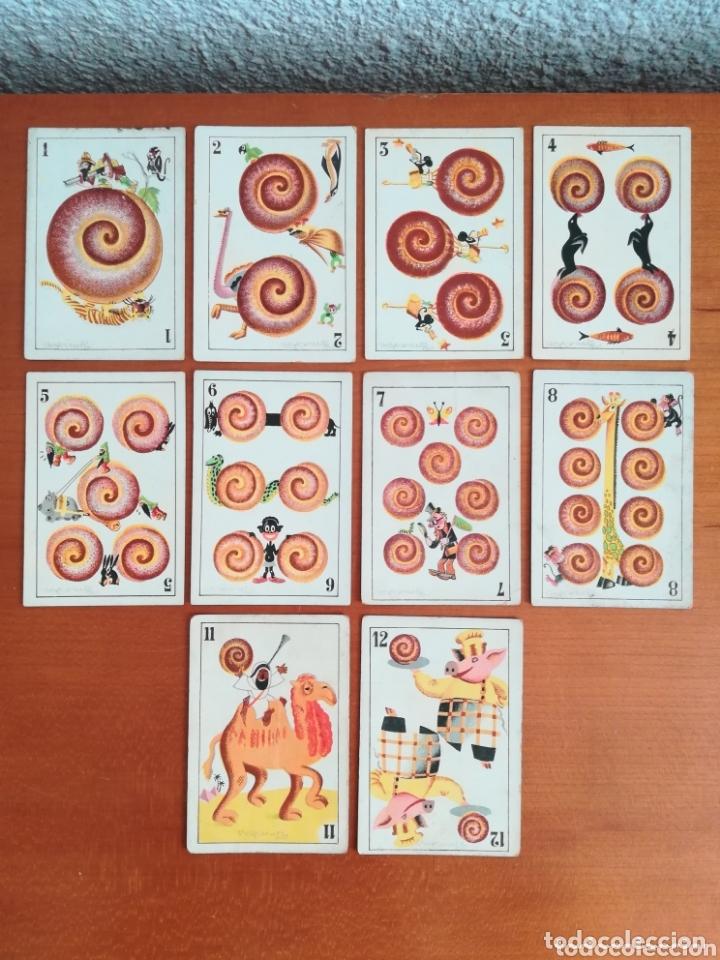 Barajas de cartas: Antigua Baraja cartas publicidad Chocolates San Fernando Ilustraciones Bofarull - 1932 - Incompleta - Foto 9 - 173866544