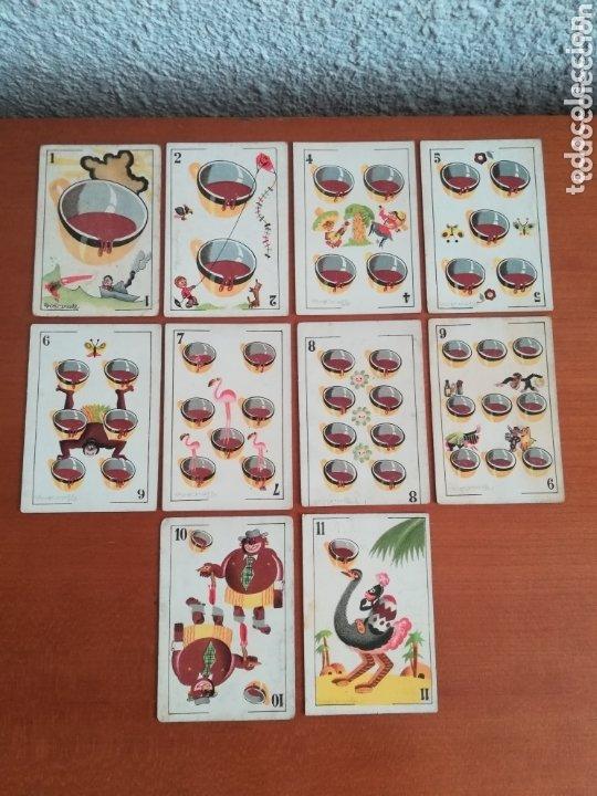 Barajas de cartas: Antigua Baraja cartas publicidad Chocolates San Fernando Ilustraciones Bofarull - 1932 - Incompleta - Foto 28 - 173866544
