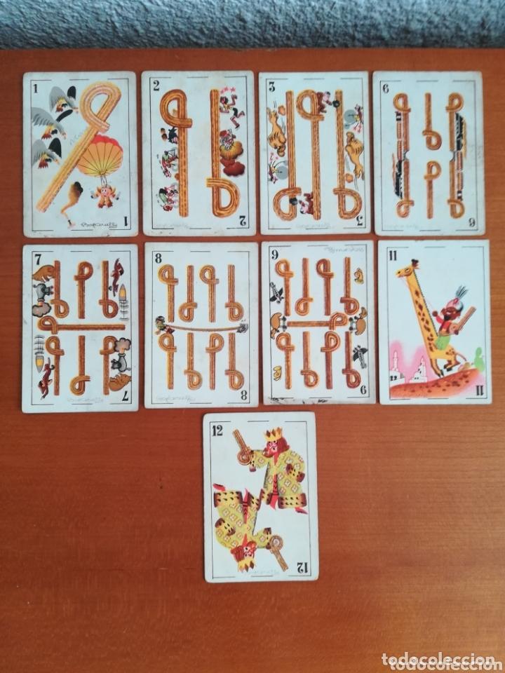ANTIGUA BARAJA CARTAS PUBLICIDAD CHOCOLATES SAN FERNANDO ILUSTRACIONES BOFARULL - 1932 - INCOMPLETA (Juguetes y Juegos - Cartas y Naipes - Baraja Española)