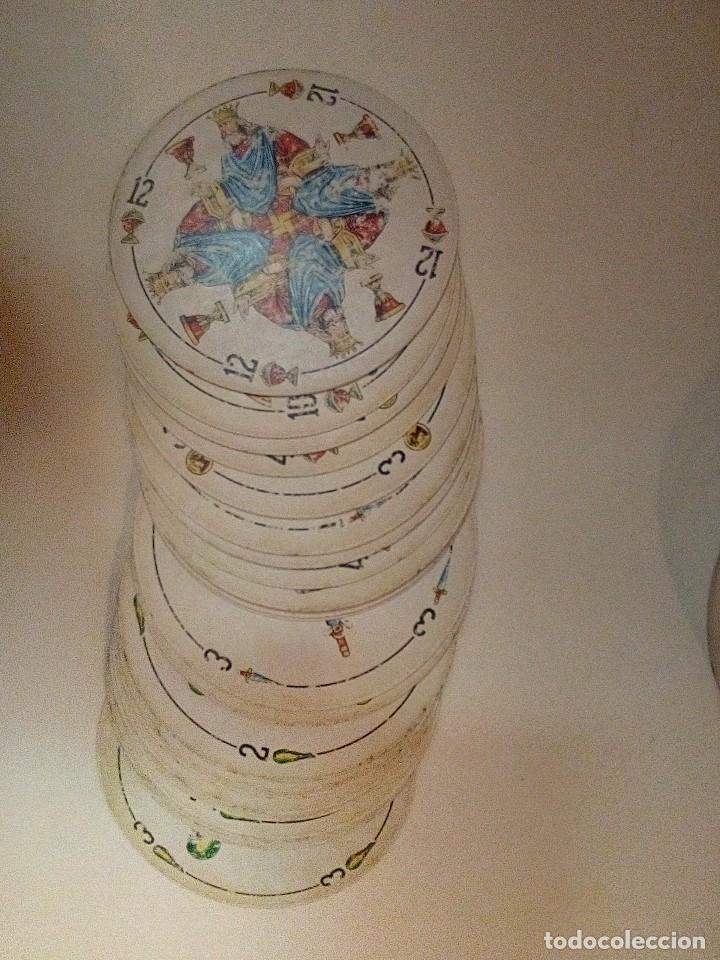 Barajas de cartas: BARAJA REDONDA ESPAÑOLA COMPLETA 50 CARTAS - Foto 2 - 173981143
