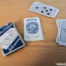 Barajas de cartas: DÒMINO SILENCIOSO HERACLIO FOURNIER. Lote 174029055