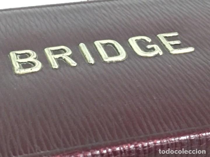 Barajas de cartas: Antiguo Estuche para barajas de Bridge Cierre y letras en plata con punzones - Foto 3 - 174088475
