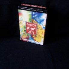 Barajas de cartas: OSHO - TAROT ZEN, EL JUEGO TRASCENDENTAL DEL ZEN - 79 CARTAS MAS LIBRO DE INSTRUCIONES. Lote 174097027