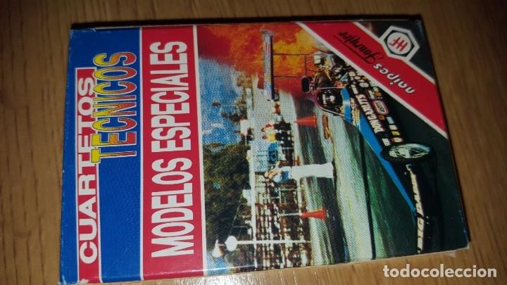 BARAJA CUARTETOS TECNICOS, MODELOS ESPECIALES (Juguetes y Juegos - Cartas y Naipes - Barajas Infantiles)