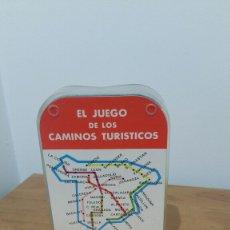 Barajas de cartas: EL JUEGO DE LOS CAMINOS.ÚNICA CON LA BASE ROJA. Lote 174182784