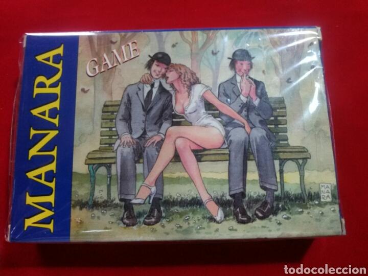 MILO MANARA GAME BARAJA CARTAS. (Juguetes y Juegos - Cartas y Naipes - Otras Barajas)