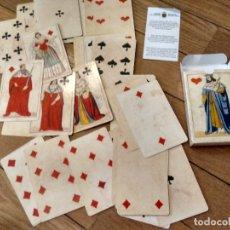 Barajas de cartas: BARAJA DE CARTAS CHIARI ITALIA SIGLO XIX 1850. Lote 174445045