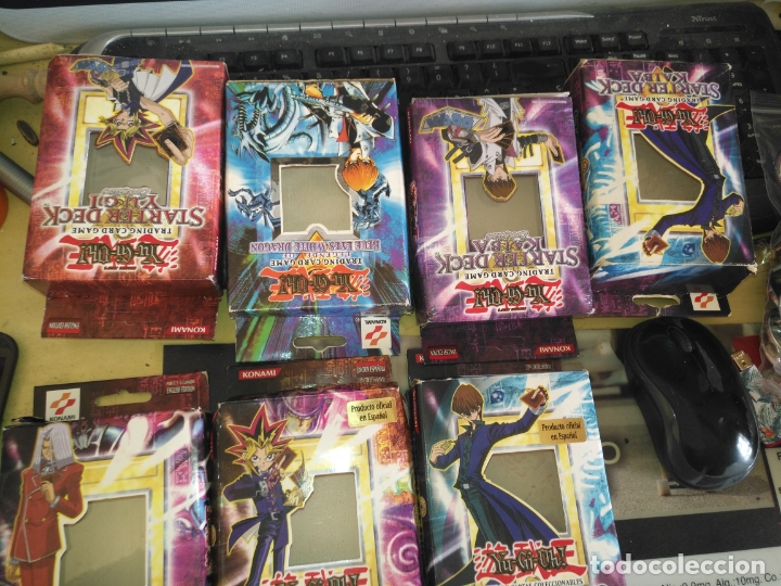 Barajas de cartas: yo gi oh gran lote tacos - trading card - cajas 1ª edicion española baraja de inicio kaiba MAGIC MTG - Foto 4 - 174494349