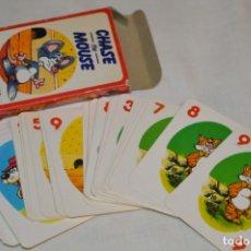 Barajas de cartas: ANTIGUA BARAJA CHASE THE MOUSE - COMPLETA 36 CARTAS / AÑO 1982 ARROW PUZZLES ¡MIRA FOTOS/DETALLES!. Lote 174520577