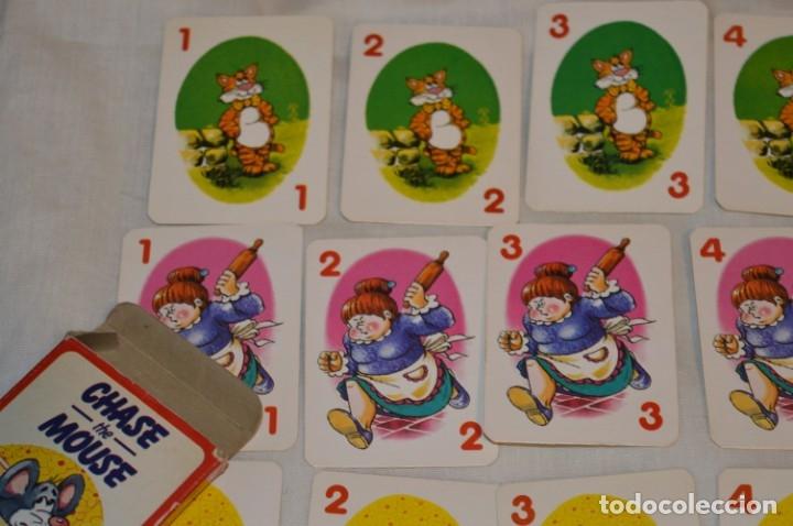 Barajas de cartas: Antigua BARAJA Chase The Mouse - Completa 36 Cartas / Año 1982 ARROW PUZZLES ¡Mira fotos/detalles! - Foto 3 - 174520577