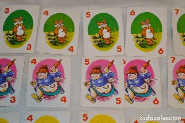 Barajas de cartas: Antigua BARAJA Chase The Mouse - Completa 36 Cartas / Año 1982 ARROW PUZZLES ¡Mira fotos/detalles! - Foto 4 - 174520577