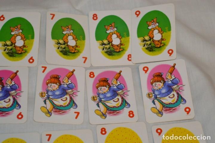 Barajas de cartas: Antigua BARAJA Chase The Mouse - Completa 36 Cartas / Año 1982 ARROW PUZZLES ¡Mira fotos/detalles! - Foto 5 - 174520577