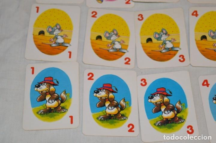 Barajas de cartas: Antigua BARAJA Chase The Mouse - Completa 36 Cartas / Año 1982 ARROW PUZZLES ¡Mira fotos/detalles! - Foto 6 - 174520577